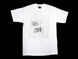 Stussy STUSSY × DONDI Dondi B & C T shirt short sleeve dondi collaboration (stussy tee tee shirts T-SHIRTS top W name men's men's 1902027 Steacy) ice filed icefield