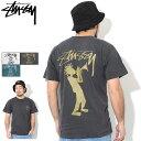 ステューシー STUSSY Tシャツ 半袖 メンズ All That Jazz Pigment Dyed(stussy tシャツ tee ピグメント ティーシャツ …