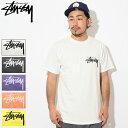 ステューシー STUSSY Tシャツ 半袖 メンズ Stock Pigment Dyed(stussy tシャツ tee ピグメント ティーシャツ T-SHIRTS カットソー トッ…