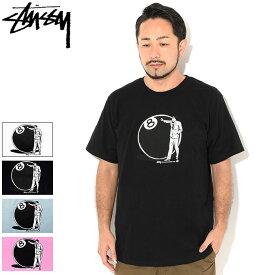 ステューシー STUSSY Tシャツ 半袖 メンズ 8 Ball Man ( stussy tee ティーシャツ T-SHIRTS カットソー トップス メンズ・男性用 1904534 USAモデル 正規 品 ストゥーシー スチューシー )[M便 1/1] ice field icefield