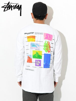 ステューシーSTUSSYTシャツ長袖メンズGreatFuture(stussyteeティーシャツT-SHIRTSカットソートップスロングロンティーロンtメンズ・男性用1994444USAモデル正規品ストゥーシースチューシー)icefiledicefield