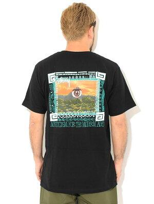 ステューシーSTUSSYTシャツ半袖メンズ&レディースMojave(stussyteeティーシャツT-SHIRTSカットソートップスメンズ・男性用1904661USAモデル正規品ストゥーシースチューシー)[M便1/1]icefieldicefield