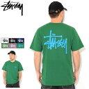 ステューシー STUSSY Tシャツ 半袖 メンズ Basic Stussy ( stussy tee ティーシャツ T-SHIRTS カットソー トップス ベーシック メンズ…