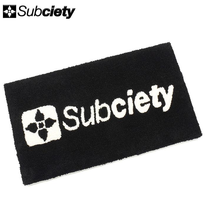 サブサエティ Subciety マット フロア マット(subciety サブサエティー Floor Mat 雑貨 インテリア メンズ レディース ユニセックス 男女兼用 小物 107-87345)