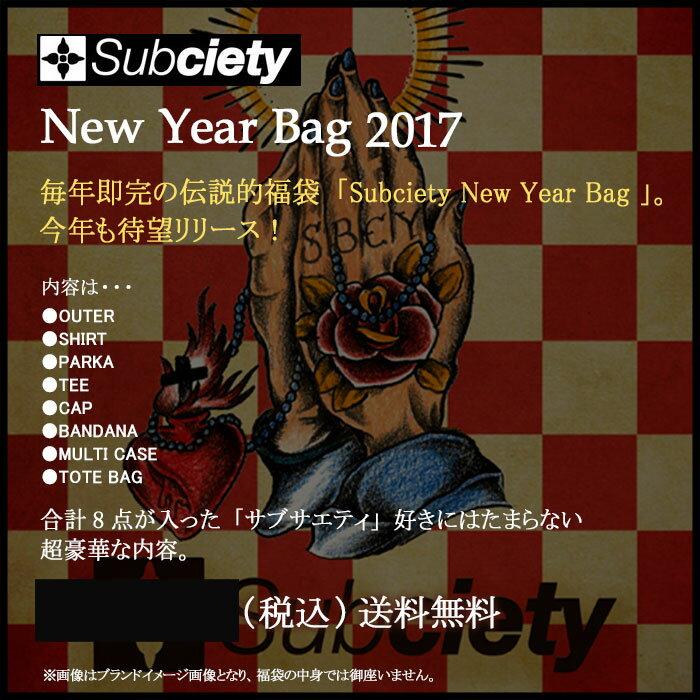 【1/25発送予定】サブサエティー Subciety New Year Bag 福袋 2017