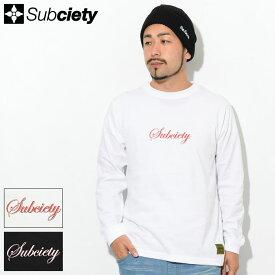 サブサエティ Subciety Tシャツ 長袖 メンズ ザ バース ( subciety サブサエティー The Birth L/S Tee ティーシャツ T-SHIRTS トップス ロング ロンティー ロンt 101-44464 )