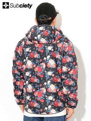サブサエティSubcietyジャケットメンズフーデッド(subcietyサブサエティーHoodedJKTリバーシブル中綿JACKETJAKETアウタージャンパー・ブルゾン101-60434)icefiledicefield