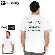 サブサエティSubcietyTシャツ半袖メンズオリジナル(subcietyサブサエティーOriginalS/STeeティーシャツT-SHIRTSカットソートップス104-40596)[M便1/1]icefieldicefield