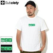サブサエティSubcietyTシャツ半袖メンズアッパー(subcietyサブサエティーUpperS/STeeティーシャツT-SHIRTSカットソートップス107-40678)[M便1/1]icefieldicefield