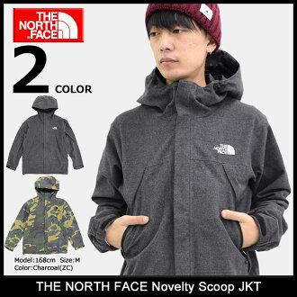北脸北脸新奇舀的夹克 (北面对新奇勺夹克空调护套肉体的男士男士皮大衣和北脸山 · 帕克山公园山皮大衣 マンパー NP61241 NORTHFACE)