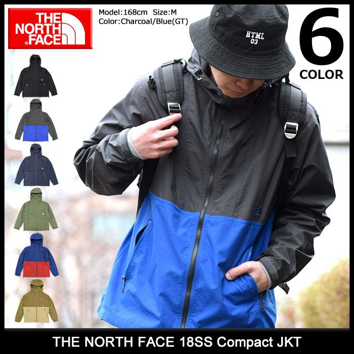 ザ ノースフェイス ナイロンジャケット メンズ THE NORTH FACE 18SS コンパクト JACKET(ノースフェイス メンズファッション ジャンパー・ブルゾン ナイロンジャケット JACKET アウター パーカー ザ・ノースフェイス ジャケット マウンテンパーカー NP71530)