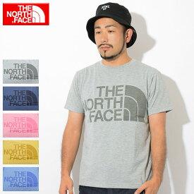 ザ ノースフェイス THE NORTH FACE Tシャツ 半袖 メンズ カラー ヘザー ロゴ ( the north face Color Heather Logo S/S Tee ティーシャツ T-SHIRTS カットソー トップス メンズ MENS NT31954 ザ・ノース・フェイス THE・NORTHFACE )[M便 1/1]