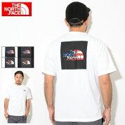 ザノースフェイスTHENORTHFACETシャツ半袖メンズナショナルフラッグスクエアロゴ(thenorthfaceNationalFlagSquareLogoS/STeeティーシャツT-SHIRTSカットソートップスメンズMENSNT31943ザ・ノース・フェイスTHE・NORTHFACE)[M便1/1]
