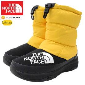 ザ ノースフェイス THE NORTH FACE ブーツ メンズ 男性用 ヌプシ ダウン ブーティー TNF Yellow/Black ( NUPTSE DOWN BOOTIE 撥水 防寒 ウィンターブーツ 靴 シューズ NF51877-YK ザ・ノース・フェイス THE・NORTHFACE )