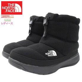 20周年セール!ザ ノースフェイス THE NORTH FACE ブーツ レディース 女性用 ウィメンズ ヌプシ ブーティー ウール 5 ショート TNF Black ( Womens NUPTSE BOOTIE WOOL V SHORT 撥水 防寒 スノーシューズ ウィンターブーツ 靴 シューズ NFW51979-KK )