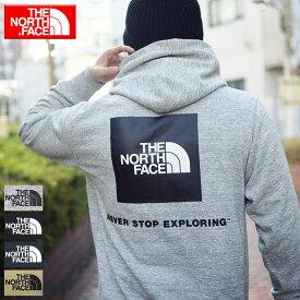 ザ ノースフェイス THE NORTH FACE プルオーバー パーカー メンズ バック スクエア ロゴ フーディ ( the north face Back Square Logo Hoodie フード フーディー スウェット Pull Over Hoody Parker トップス NT12034 ザ・ノース・フェイス THE・NORTHFACE )