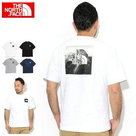 ザ ノースフェイス THE NORTH FACE Tシャツ 半袖 メンズ ピクチャード スクエア ロゴ ( the north face Pictured Square Logo S/S Tee ティーシャツ T-SHIRTS カットソー トップス メンズ MENS NT32036 ザ・ノース・フェイス THE・NORTHFACE )[M便 1/1] ice field icefield