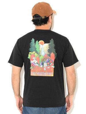 ノースフェイスTシャツ半袖メンズTHENORTHFACEヨセミテフォール(thenorthfaceYosemiteFallsS/STee2021春夏ティーシャツT-SHIRTSカットソートップスメンズMENSNT32105ザ・ノース・フェイスTHE・NORTHFACE)[M便1/1]