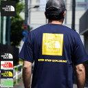 【送料無料】ザ ノースフェイス THE NORTH FACE Tシャツ 半袖 メンズ バンダナ スクエア ロゴ ( Bandana Square Logo S/S Tee 2021春夏…