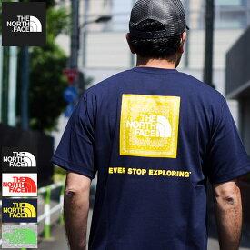 【送料無料】ザ ノースフェイス THE NORTH FACE Tシャツ 半袖 メンズ バンダナ スクエア ロゴ ( Bandana Square Logo S/S Tee 2021春夏 ティーシャツ T-SHIRTS カットソー トップス メンズ MENS NT32108 ザ・ノース・フェイス THE・NORTHFACE )[M便 1/1]