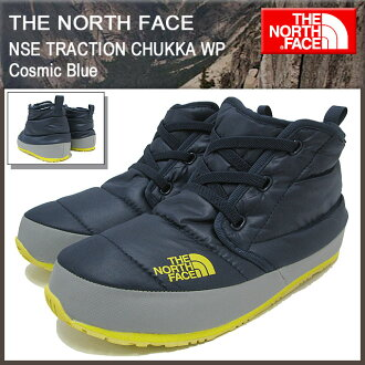 The north face THE NORTH FACE nubs traction chukka WP cosmic blue men ... 79dbd3f59