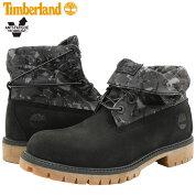 【日本正規品】ティンバーランドTimberlandブーツメンズ男性用ロールトップBlackNubuck(TimberlandA2BWUROLLTOPBootブラック黒BOOTS男性紳士用MENS・靴メンズ靴)icefieldicefield