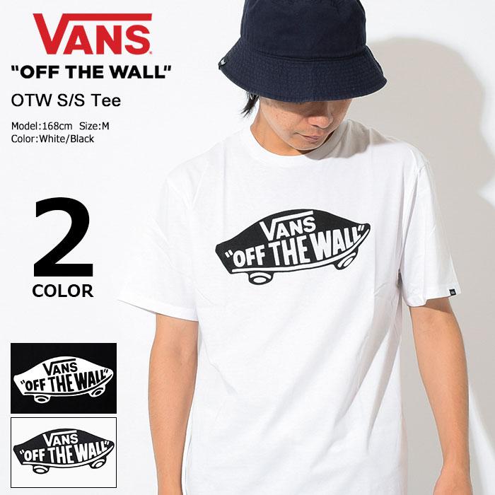 バンズ VANS Tシャツ 半袖 メンズ OTW(vans OTW S/S Tee ティーシャツ T-SHIRTS カットソー トップス メンズ 男性用 VN-000JAY ヴァンズ)[M便 1/1]