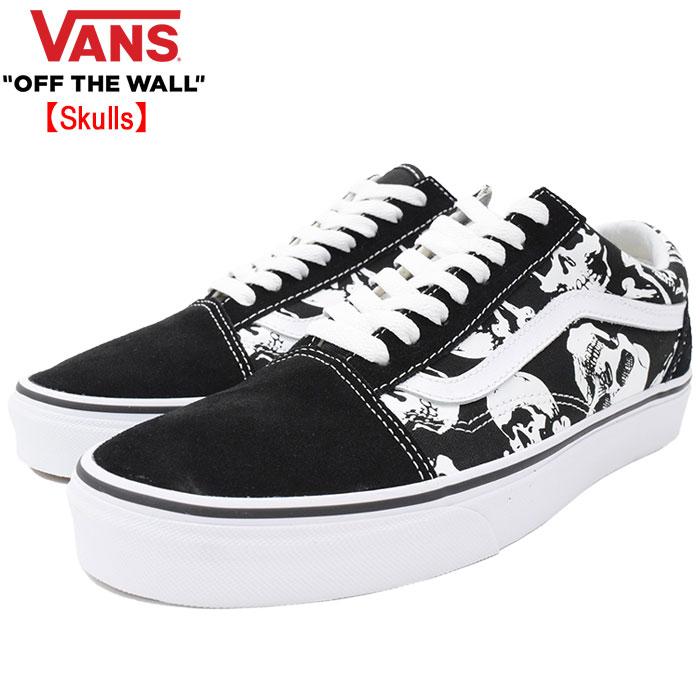 バンズ VANS スニーカー メンズ 男性用 オールドスクール Black/True White スカル(vans VN-0A38G1H0B Old Skool Skulls ローカット ブラック 黒 SNEAKER MENS・靴 シューズ SHOES ヴァンズ)