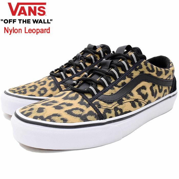 バンズ VANS スニーカー メンズ 男性用 オールドスクール ギリー Black ナイロン レオパード(vans VN-0A3TKIUAY Old Skool Ghillie Nylon Leopard ローカット SNEAKER MENS・靴 シューズ SHOES ヴァンズ)