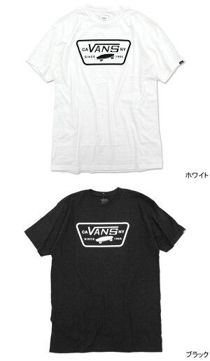 バンズVANSTシャツ半袖メンズフルパッチ(vansFullPatchS/STeeティーシャツT-SHIRTSカットソートップスメンズ男性用VN000QN8YB2ヴァンズ)[M便1/1]icefieldicefield