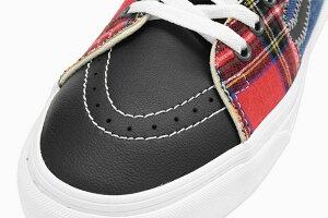 バンズVANSスニーカーメンズ男性用スケートハイMulti/AcidDyeタータンデイズ(vansVN0A32QG9GBSk8-HiTartanDazeスケートハイSk8HiハイカットSNEAKERMENS・靴シューズSHOESヴァンズ)icefieldicefield