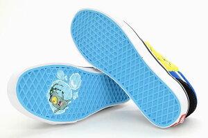 バンズVANSスニーカーレディース&メンズスポンジボブオールドスクールBlack/Blue(VN0A38G19XDVANS×SPONGEBOBOldSkoolスポンジ・ボブローカットSNEAKERLADIESMENS・靴シューズSHOESヴァンズ)icefieldicefield