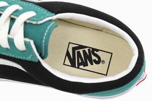 バンズVANSスニーカーメンズ男性用スタイル36Tidepool/Blackビンテージスエード(vansVN0A3DZ3XMRStyle36VintageSuedeローカットグリーン緑SNEAKERMENS・靴シューズSHOESヴァンズ)