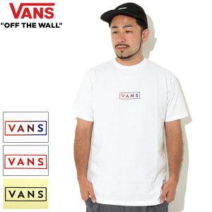 バンズVANSTシャツ半袖メンズクラシックイージーボックス(vansClassicEasyBoxS/STeeティーシャツT-SHIRTSカットソートップスメンズ男性用VN0A5E813PSVN0A5E81ATJヴァンズ)[M便1/1]icefieldicefield