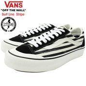 バンズVANSスニーカーメンズ男性用スタイル36SFストライプBlack/Marshmallowサーフライン(vansVN0A3ZCJXMUStyle36SFStripeSurfLineローカットブラック黒SNEAKERMENS・靴シューズSHOESヴァンズ)