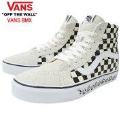 バンズVANSスニーカーメンズ男性用スケートハイリイシューWhite/Blackバンズビーエムエックス(vansVN0A4BV8V3HSk8-HiReissueVANSBMXハイカットホワイト白SNEAKERMENS・靴シューズSHOESヴァンズ)