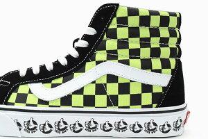 バンズVANSスニーカーメンズ男性用スケートハイリイシューBlack/SharpGreenバンズビーエムエックス(vansVN0A4BV8V3WSk8-HiReissueVANSBMXハイカットブラック黒SNEAKERMENS・靴シューズSHOESヴァンズ)