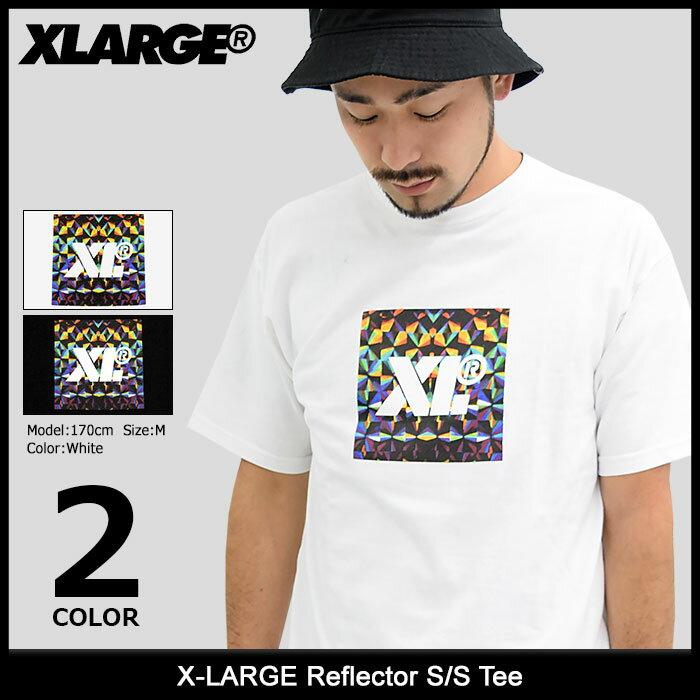 エクストララージ X-LARGE Tシャツ 半袖 メンズ リフレクター(x-large Reflector S/S Tee ティーシャツ T-SHIRTS カットソー トップス XLARGE Extra Large エックスラージ M17C1110)[M便 1/1]