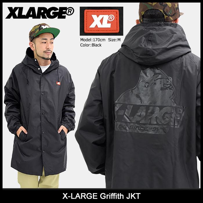 エクストララージ X-LARGE ジャケット メンズ グリフィス(x-large Griffith JKT ナイロンジャケット JACKET JAKET アウター ジャンパー・ブルゾン メンズ 男性用 XLARGE Extra Large エックスラージ M17C5105)