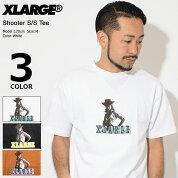 エクストララージX-LARGETシャツ半袖メンズシューター(x-largeShooterS/STeeティーシャツT-SHIRTSカットソートップスXLARGEExtraLargeエックスラージM18A1118)[M便1/1]icefiledicefield