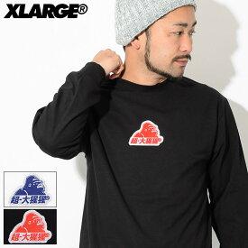 エクストララージ X-LARGE Tシャツ 長袖 メンズ グリッター OG(x-large Glitter OG L/S Tee ティーシャツ T-SHIRTS ロング ロンティー ロンt トップス XLARGE Extra Large エックスラージ 01181104) ice filed icefield