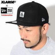 エクストララージX-LARGEキャップメンズニューエラOGストラップバックキャップコラボ(x-large×NEWERAOGStrapbackCap帽子Wネームエクストララージ×ニューエラXLARGEExtraLargeエックスラージM18C9110)icefiledicefield