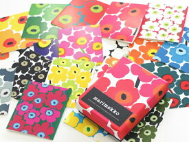 [marimekko(マリメッコ)] カードセット UNIKKO CARDS+ENVELOPES(ウニッコカード+封筒)【ラッキーシール対応】