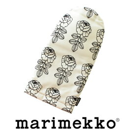 [marimekko(マリメッコ)] 鍋つかみ(ミトン) VIHKIRUUSU No.191(ブラック) (ヴィヒキルース)【ラッキーシール対応】