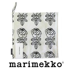 [marimekko(マリメッコ)] ポットホルダー VIHKIRUUSU No.191(ブラック) (ヴィヒキルース) 【ラッキーシール対応】