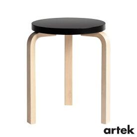 [ ARTEK(アルテック)] スツール60 (椅子) 3本脚 パイミオカラー ブラック Stool60