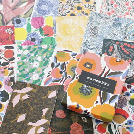 [marimekko(マリメッコ)] カード&封筒セット 16枚セット 16 DIFFERENT NOTECARDS AND ENVELOPES