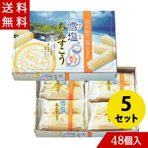 雪塩ちんすこう ミルク風味 48個入×5