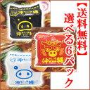 【選べる6パック】 沖縄あぐー豚とんこつラーメンか塩ラーメンかとんこつラーメン辛口1パック(5食入)×6パックセッ…