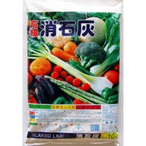 あかぎ園芸 消石灰 10kg 4袋 (4952497021005)【同梱・代引き不可】